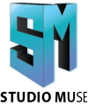 Studio Muse Vertical Logo